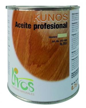 Aceite profesional - Livos - KUNOS_242